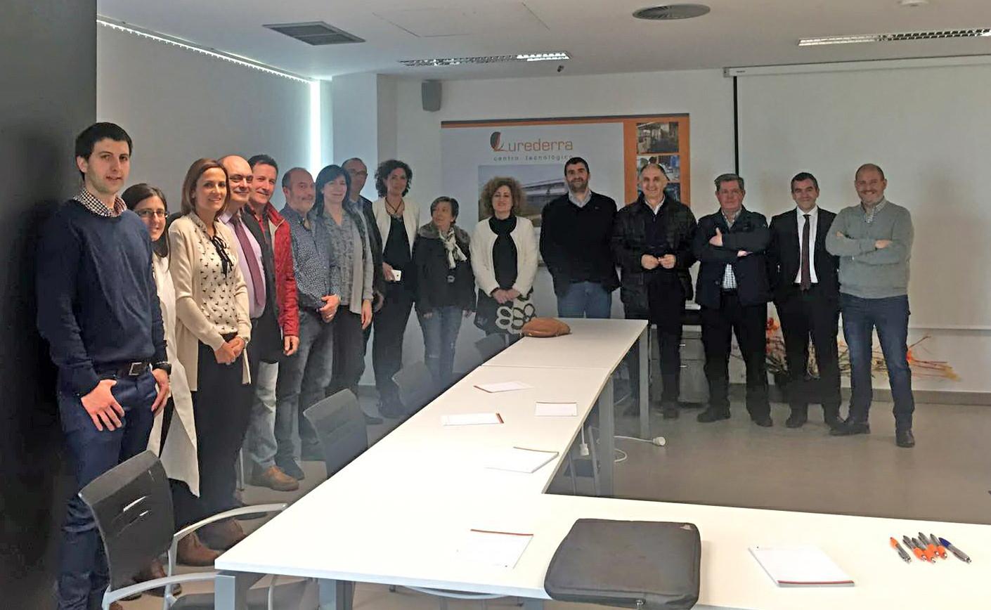 El PSN-PSOE visita el Centro Tecnológico L'Urederra
